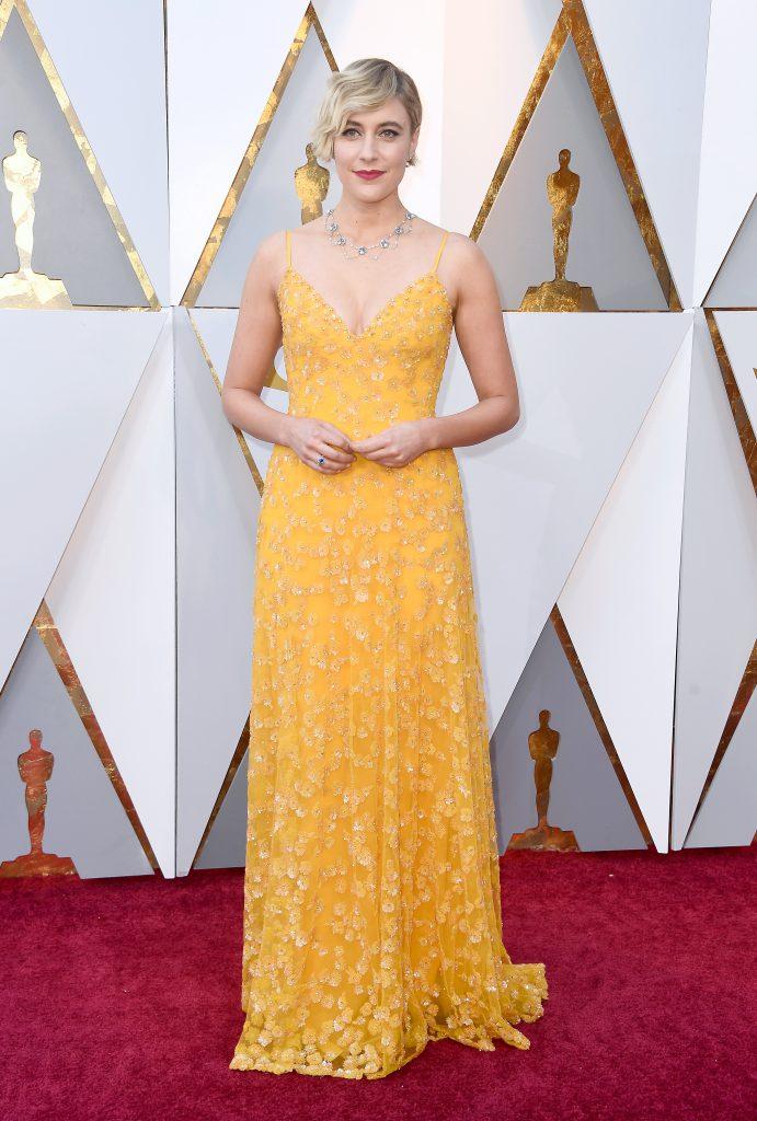 Грета Гервиг в платье Rodarte