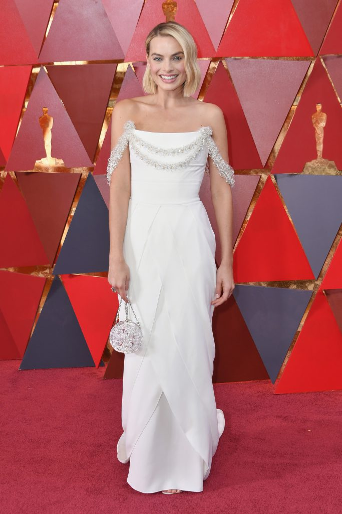 Марго Робби в платье  Chanel