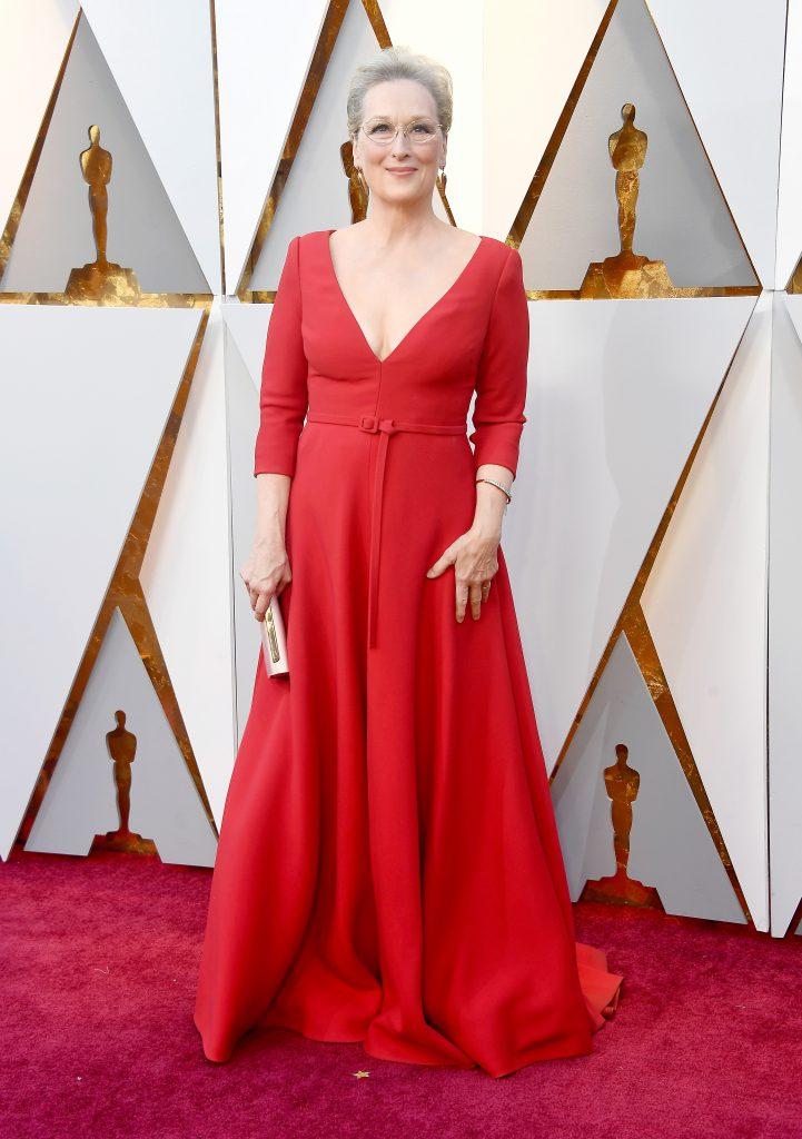 Мэрил Стрип в платье Christian Dior