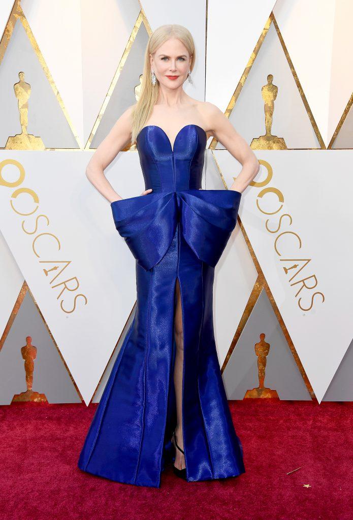 Николь Кидман в платье Armani Prive