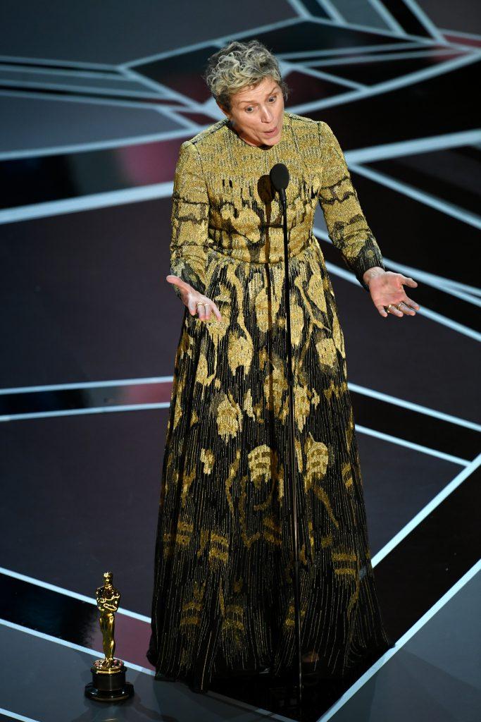 Фрэнсис на «Оскаре» в 2018-м