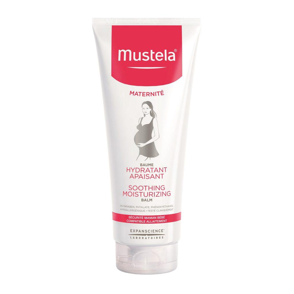 Крем против растяжек Mustela (20 $). Гипоаллергенный и без отдушек с насыщенной нежирной текстурой, быстро впитывается в кожу и мгновенно смягчает ее.