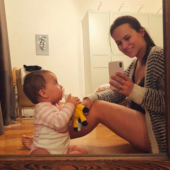 Анна Горозия с дочкой Софико; @my_inspiration_
