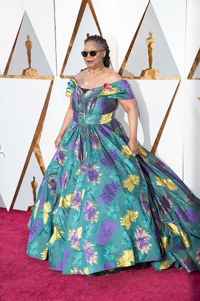 Вупи Голдберг в платье Christian Siriano, 2018 год
