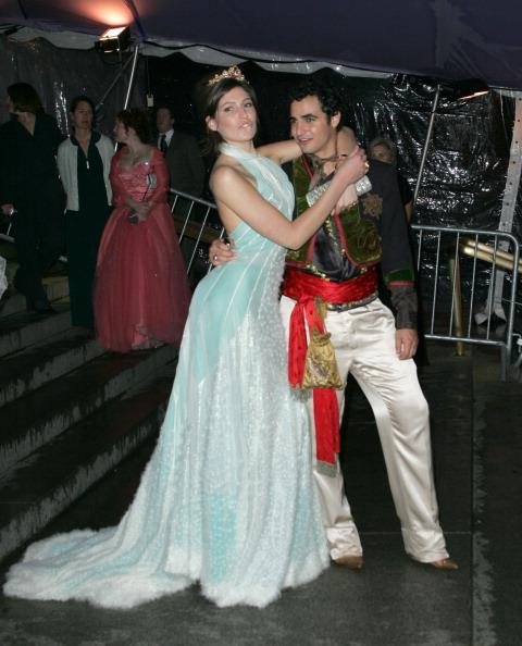 Стелла Шнабель с Заком Позеном (2004)