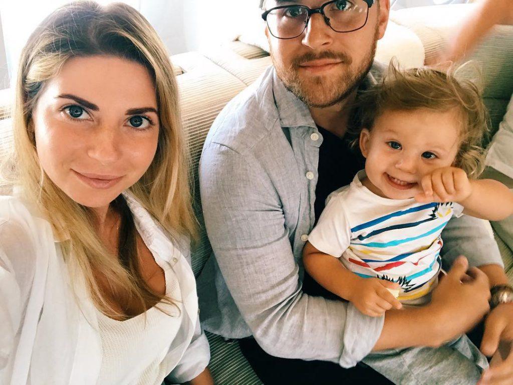 Галина и Петр с сыном Анатолием