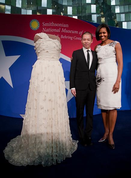Платье, созданное Джейсоном Ву, для инаугурации Барака Обамы