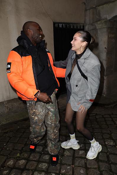 Белла Хадид в пиджаке Off/White
