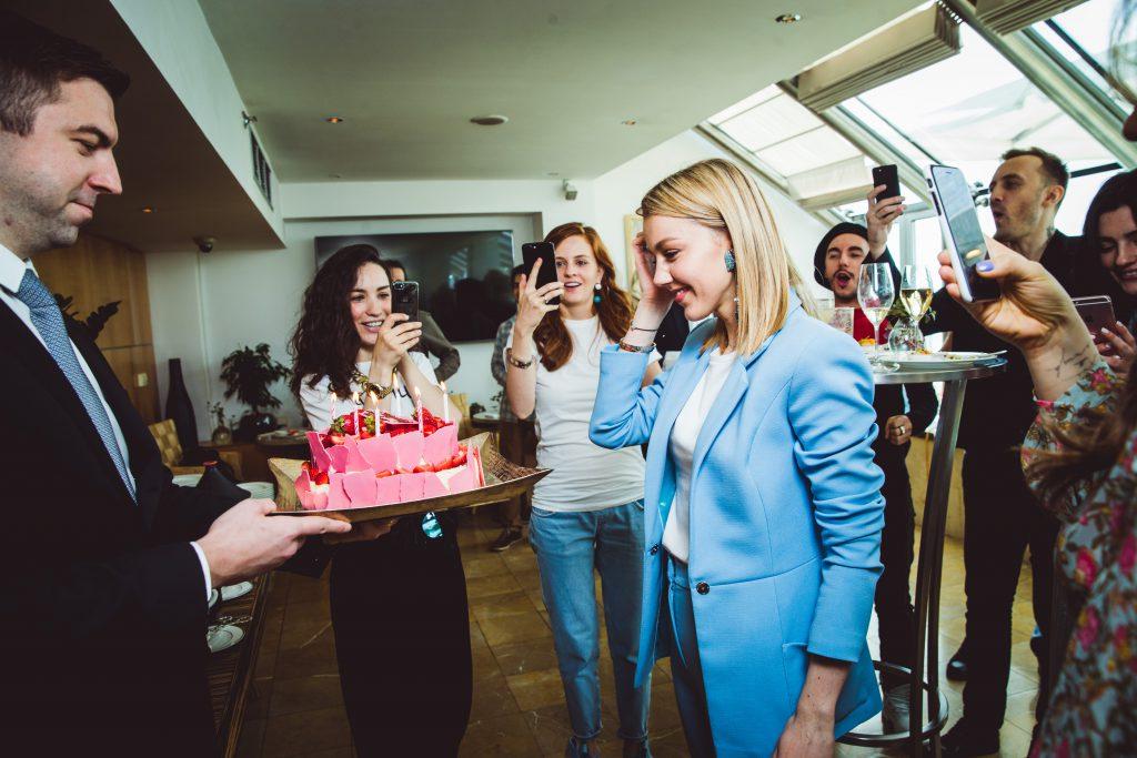 День рождения Юлианны Карауловой