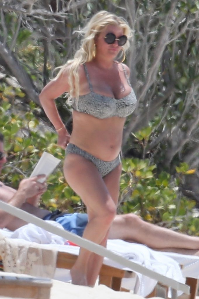 Jessica simpson spoke about being body