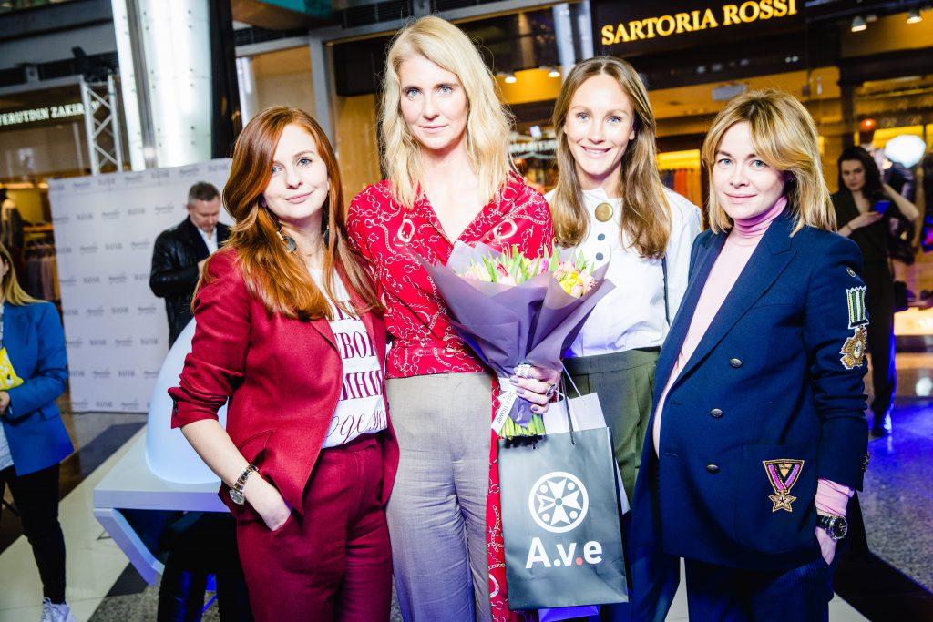 Юлия Прудько, Дарья Лисиченко, Маргарита Лиева и Олеся Терещенко