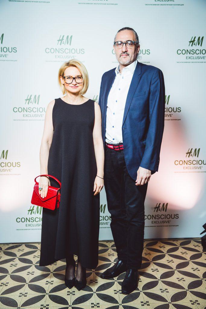 Эвелина Хромченко с супругом