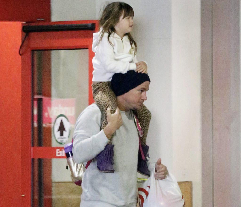 Ченнинг Татум с дочкой