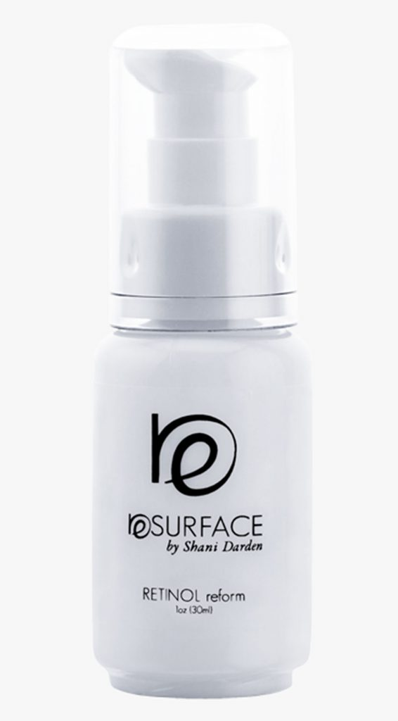 Средство с ретинолом Resurface by Shani Darden Retinol Reform, 95 $ – помогает сохранить кожу молодой и эластичной.