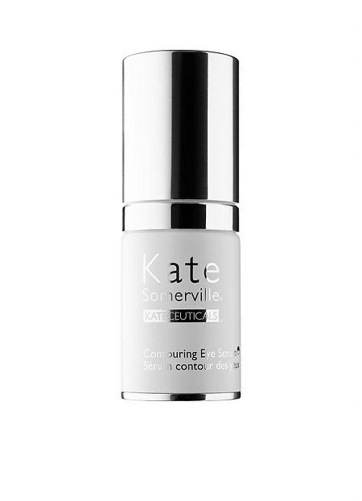 Сыворотка для кожи вокруг глаз Kate Somerville Kate Ceuticals Contouring Eye Serum, 125 $ – справляется с темными кругами под глазами.