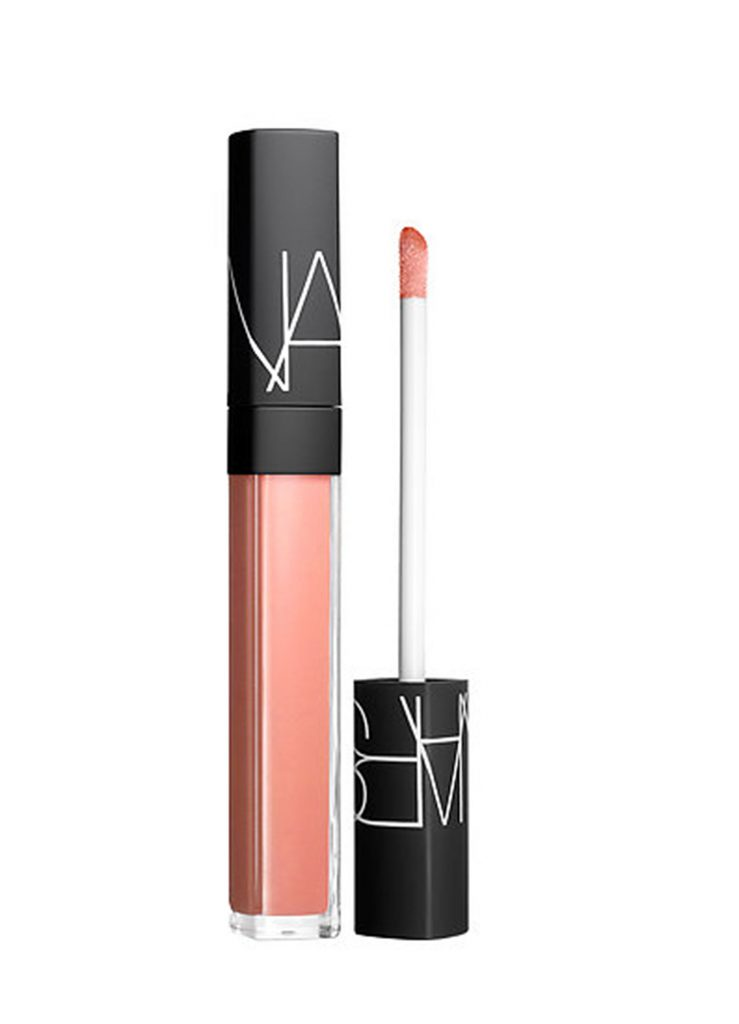Блеск для губ Nars Lip Gloss in Chelsea Girls, 23 $ – не склеивает губы.