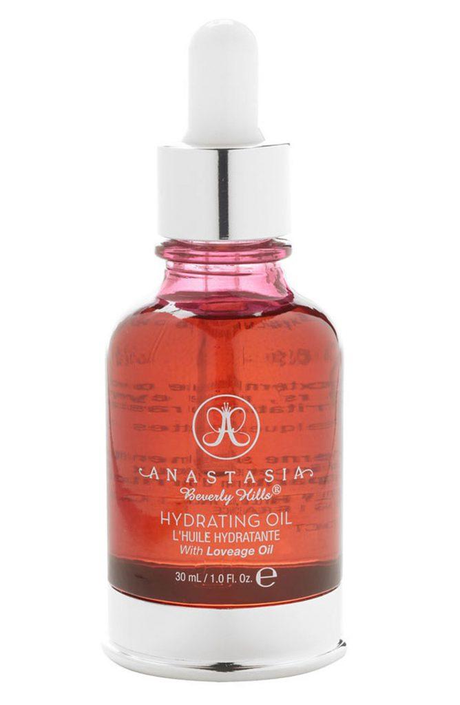 Масло для лица Anastasia Beverly Hills Hydrating Oil, 64 $ – может использоваться в качестве базы под макияж.