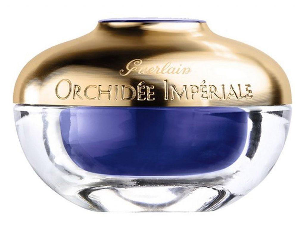 Крем для лица Guerlain Orchidée Impériale Cream, 455 $ – питает и делает кожу бархатистой.