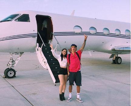 Черисса Киттмер и Джастин Бибер летят на «Коачеллу»