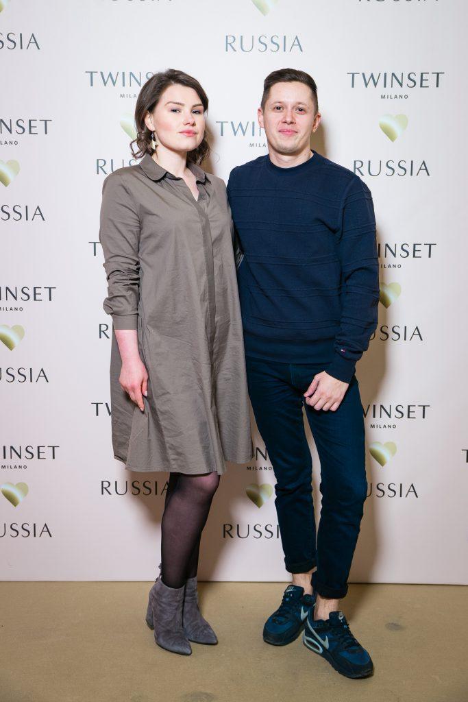 Кристина Шульева и Дмитрий Тимошенко