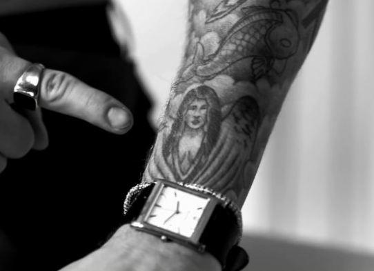 Татуировка Селены Гомес у Джастина Бибера
