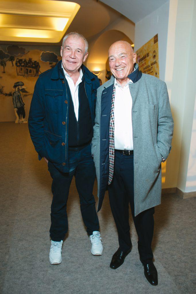 Сергей Гармаш и Владимир Познер
