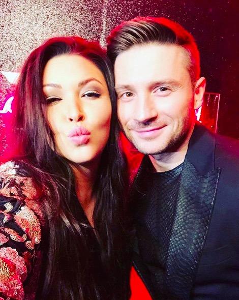 Ирина Дубцова и Сергей Лазарев