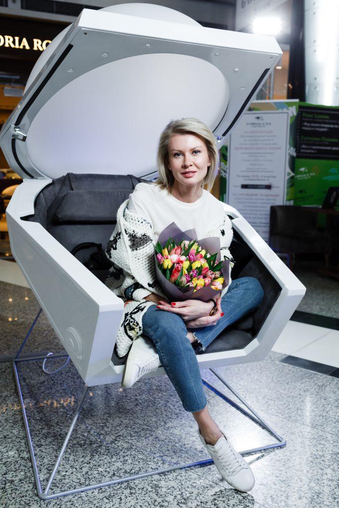 Виктория Борисевич в капсуле Somadome