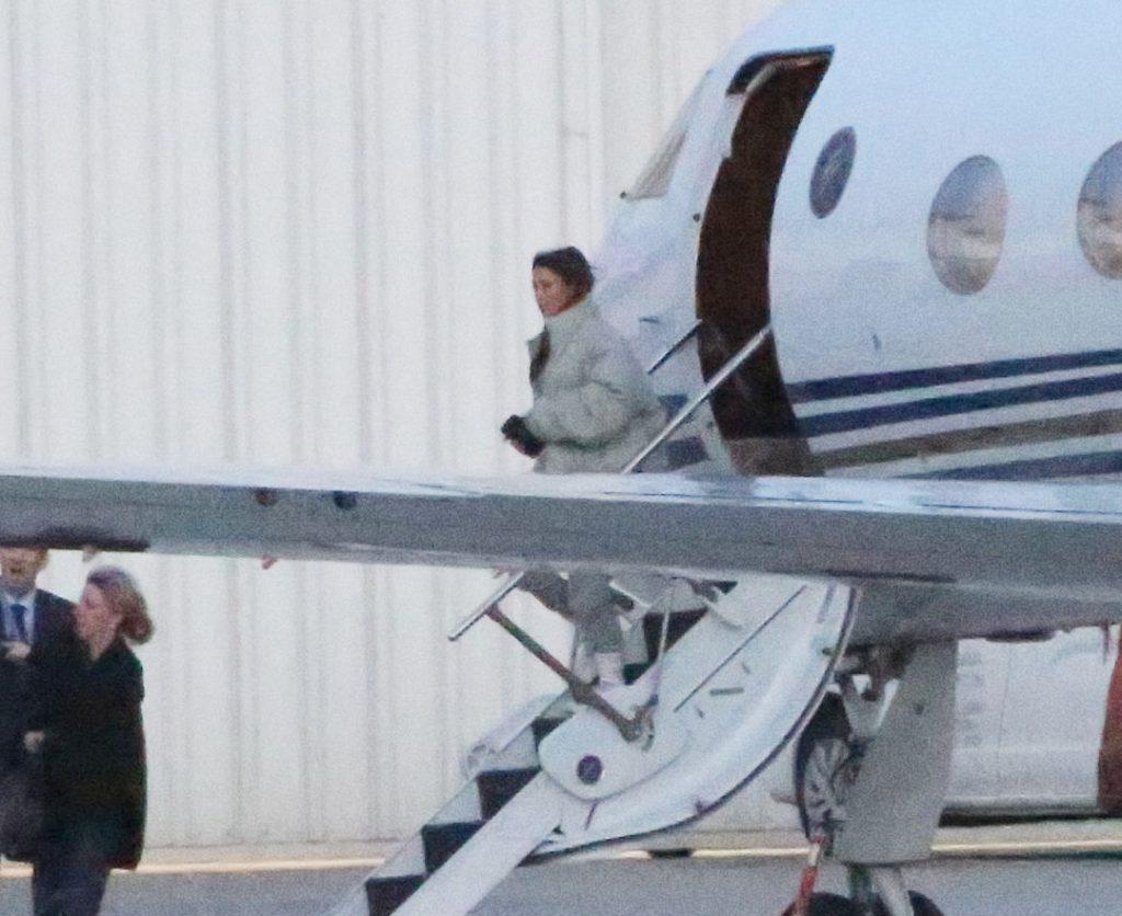 Ким Кардашьян в аэропорту Лос-Анджелеса