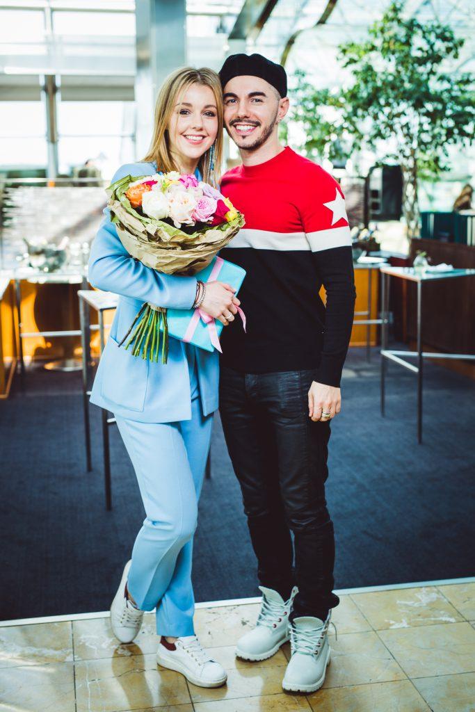 Юлианна Караулова и Тимур Родригез