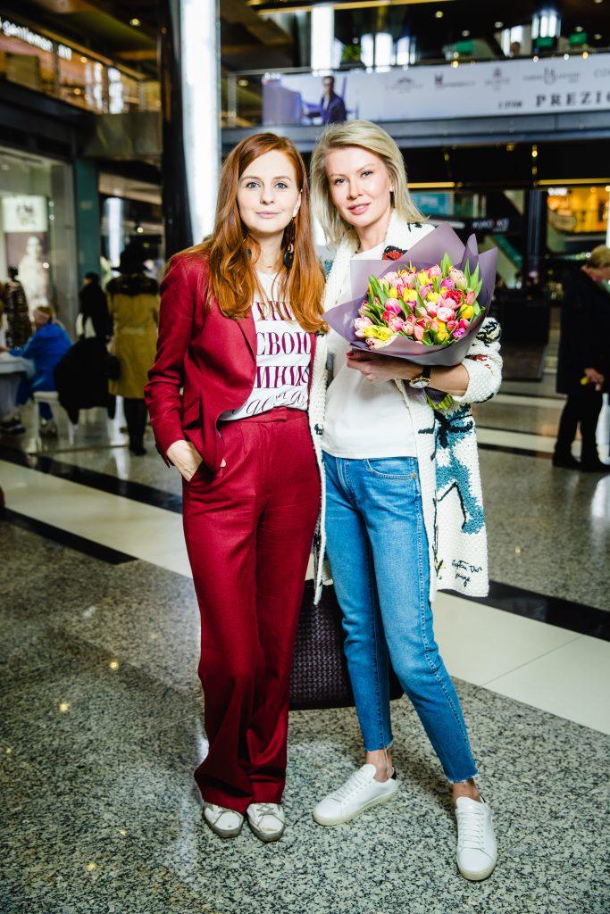 Юлия Прудько и Виктория Борисевич