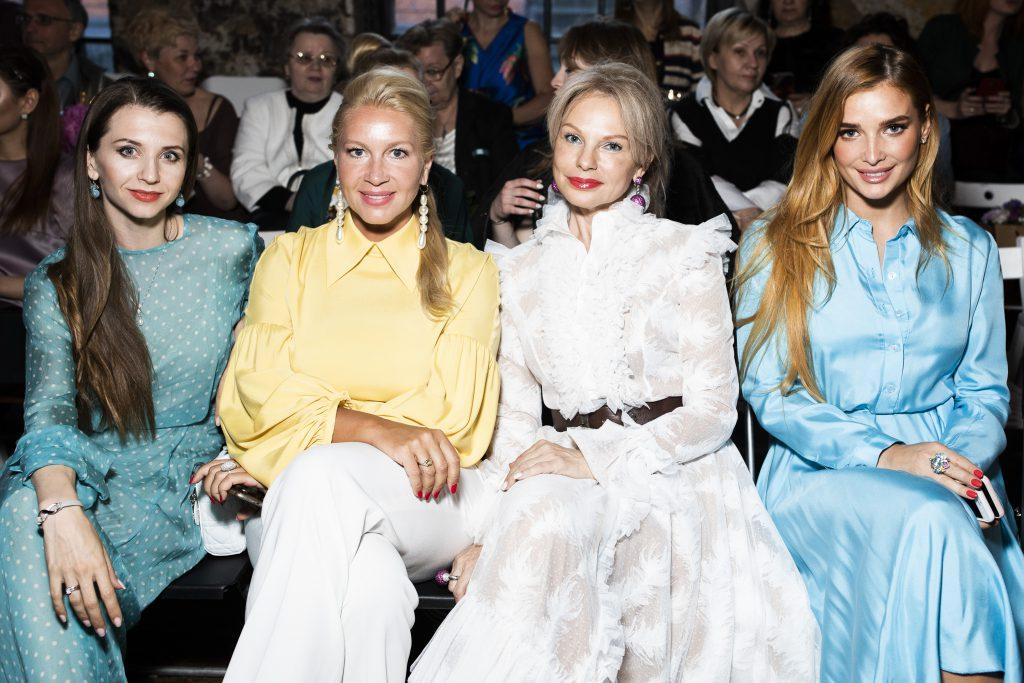 Анна Тихомирова, Екатерина Одинцова, Наталья Тюльпанова и Татьяна Котова