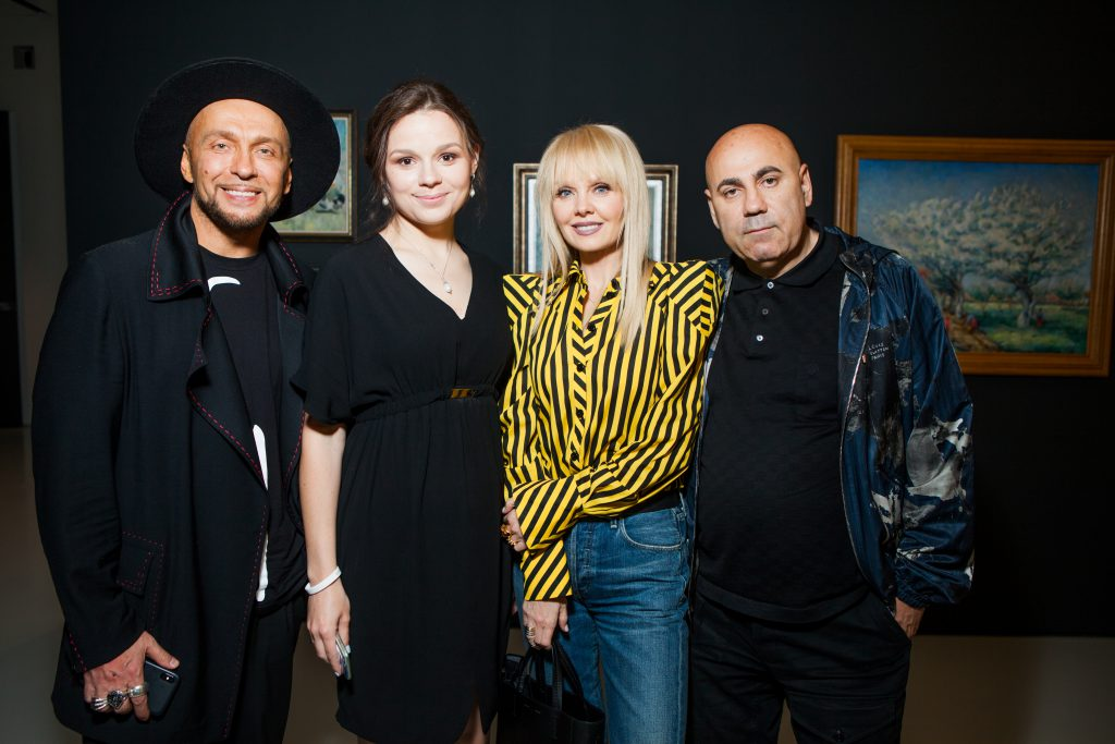 Игорь Гуляев, Юлия Петрова, Валерия и Иосиф Пригожин