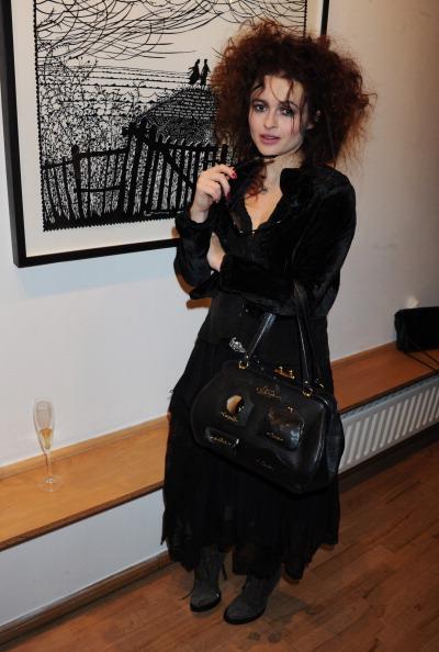 Хелена Бонэм Картер в Галерее искусств в Лондоне, 2010 год