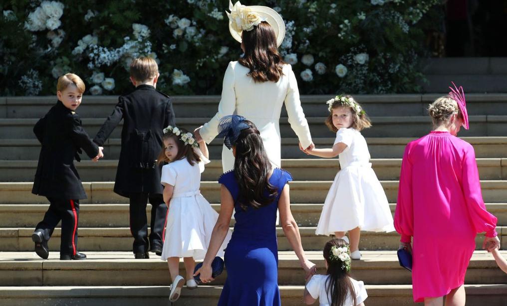 Кейт Миддлтон с детьми