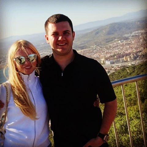 Юсуф Алекперов с женой
