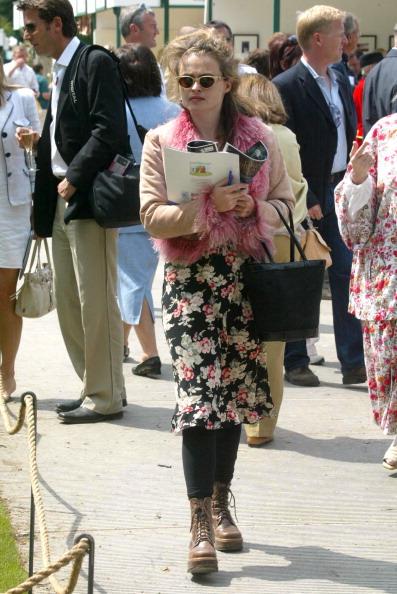 Хелена Бонэм Картер на ежегодной Выставке цветов в Челси, 2004 год