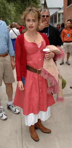 Хелена Бонэм Картер на 32 Кинофестивале в Теллерайде, 2005 год