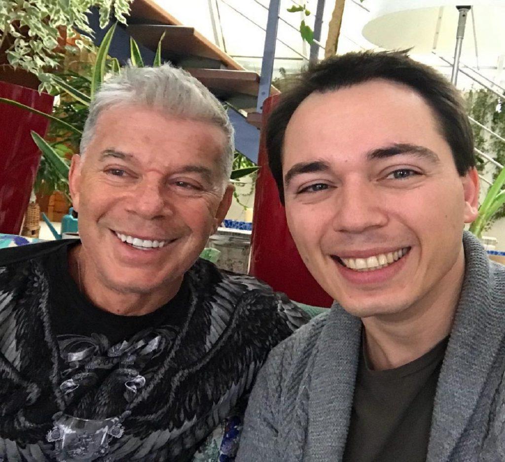 Олег Газманов с сыном Родионом