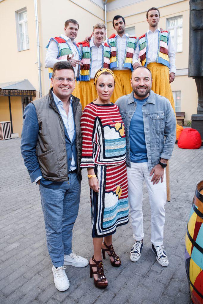 Константин Андрикопулос, Виктория Шелягова и Дмитрий Дудинский