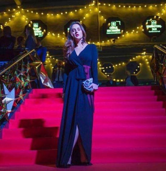 Мария Шумакова в платье Daniil Antsiferov