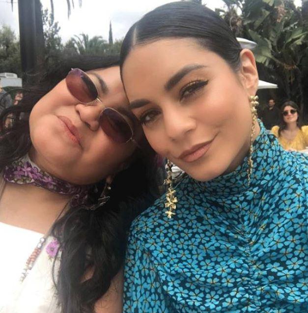 Ванесса Хадженс с мамой