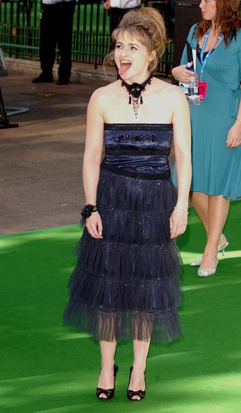 Хелена Бонэм Картер на премьере фильма «Чарли и шоколадная фабрика», 2005 год