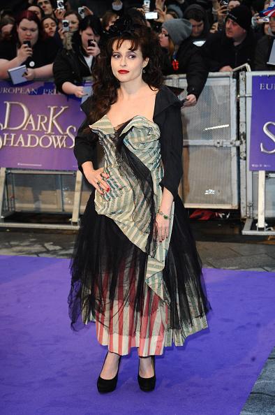 Хелена «Бонэм Картер на премьере фильма «Мрачные тени» в Лондоне, 2012 год