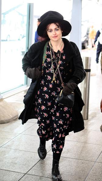 Хелена Бонэм Картер в Лондоне, 2011 год