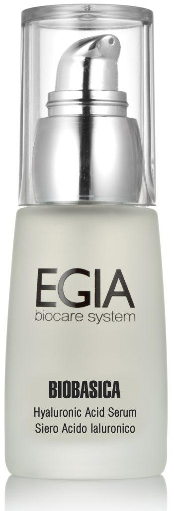 Сыворотка с гиалуроновой кислотой, EGIA Biocare System насытит кожу влагой и подарит ей сияние и свежесть. 6350 р.