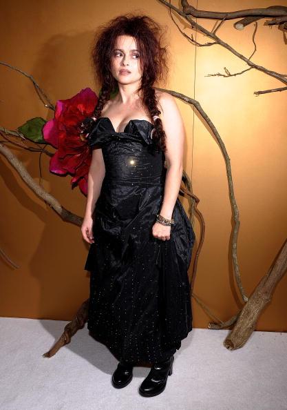 Хелена Бонэм Картер на званом вечере в МоМА, посвященном Тиму Бертону, 2009 год