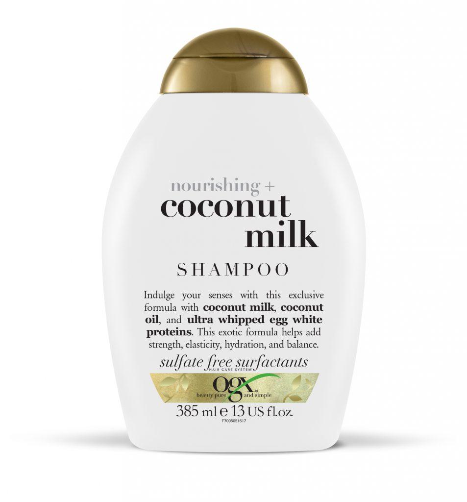 Шампунь CoconutMilk OGX - то, что нужно в летнюю жару, за счет своего кокосового аромата он поднимет тебе настроение, а еще сделает волосы мягкими и послушными. Цена по запросу