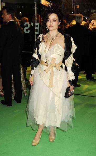 Хелена Бонэм Картер на премьере фильма «Алиса в стране чудес» в Лондоне, 2010 год