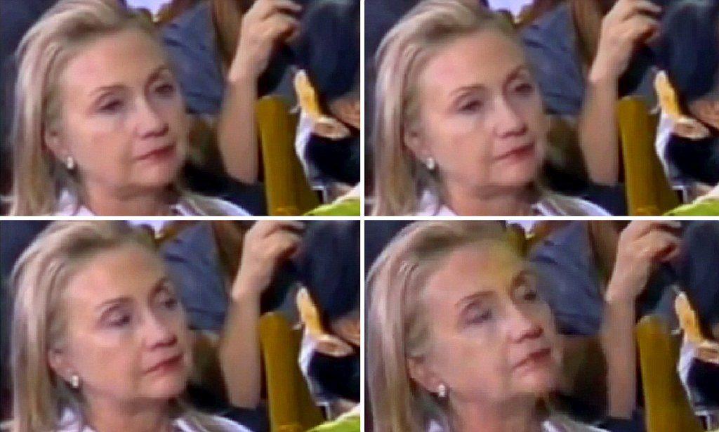 А вот Хилари просто устала. Клинтон уснула во время торжественной речи Барака Обамы в университете Янгона